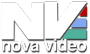 Novavideo logo blanco